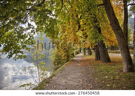 Autumn in Zell am See