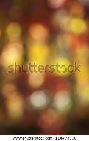 autumn leaves based abstract blur background