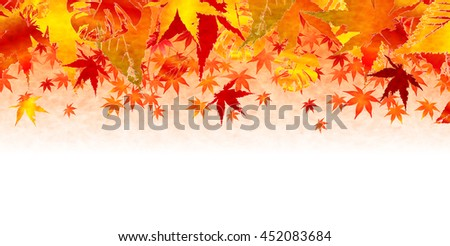 Autumn leaves fall leaf background