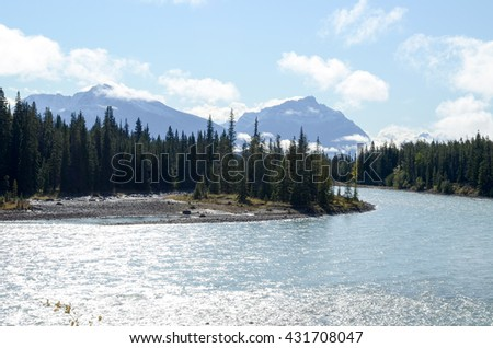Autumn Scenery of Jasper ,Canadian Rockies