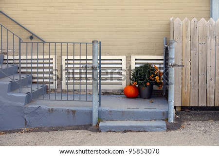 Autumn set - stock photo