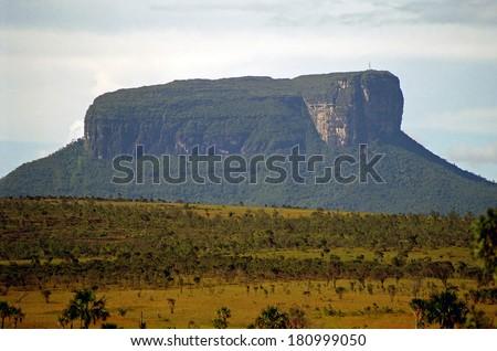 Auyantepui, Canaima National Park, Venezuela - stock photo