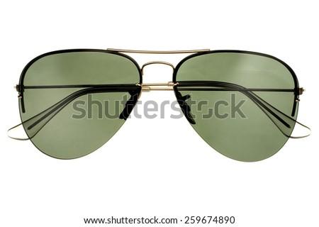 aviator sunglasses - stock photo