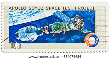 apollo soyuz space test project stamp - photo #9