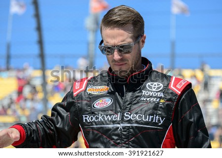 AVONDALE, AZ - MAR 11: JJ Yeley at the NASCAR Xfinity Series Axalta 200 at Phoenix International Raceway in Avondale, AZ on March 11, 2016