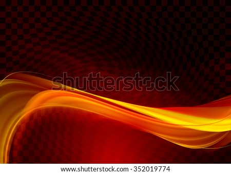 Awesome abstract fractal design - stock photo