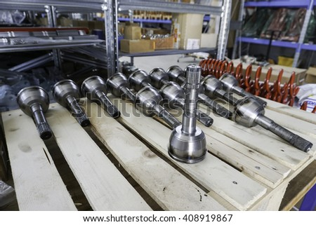 axle shafts and couplings joints
