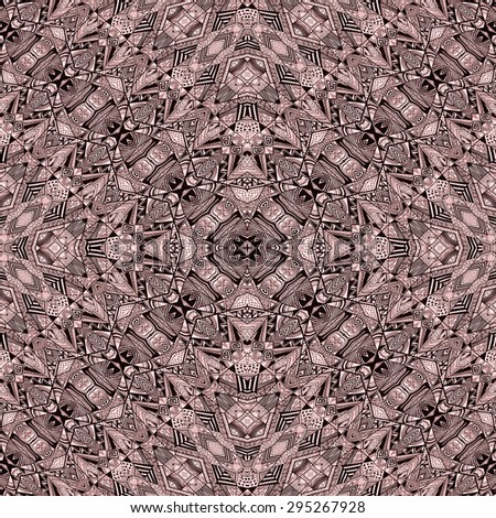 Aztec Navajo Pattern Background 02 - stock photo