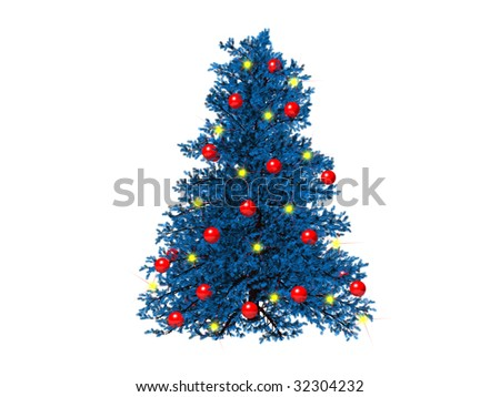 Stock images royalty free images vectors shutterstock for Red and yellow christmas tree