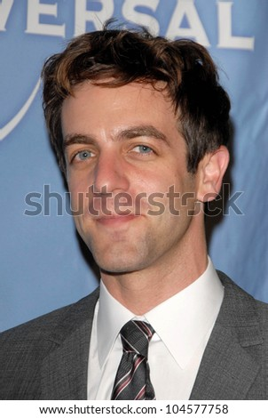 B.J. Novak at the NBC Universal 2009 All Star Party. Langham Huntington Hotel, Pasadena, CA. 08-05-09