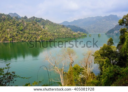 Ba B Lake is the largest natural lake in Vietnam