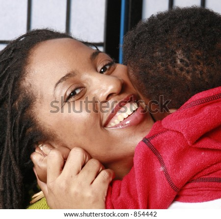 Babe in arms - stock photo