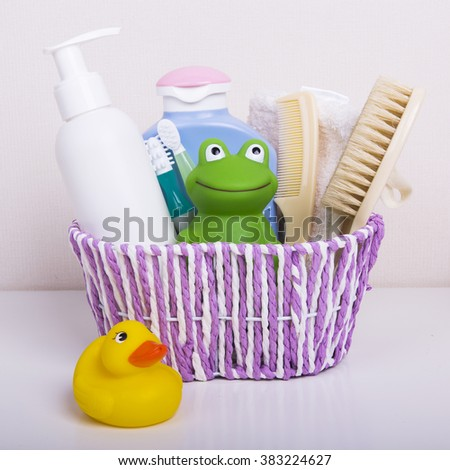 Baby accessories for bathing