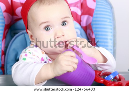 Baby bite spoon