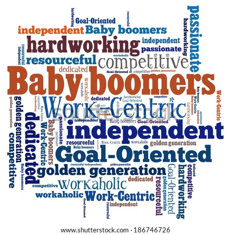 Baby Boomers Word Collage Stock Illustration 186746726 ...