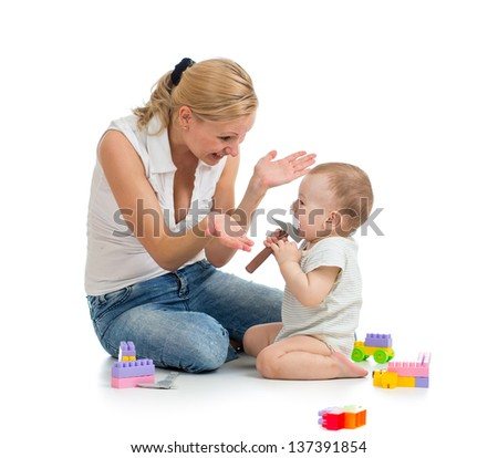 play with baby