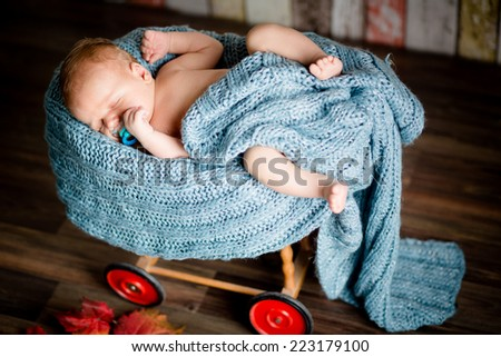 baby boy newborn mother father family