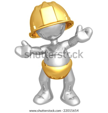 Baby Construction Worker