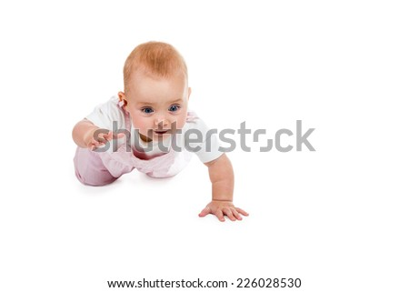how to help baby crawl forward