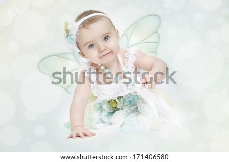Baby Fairy - stock photo