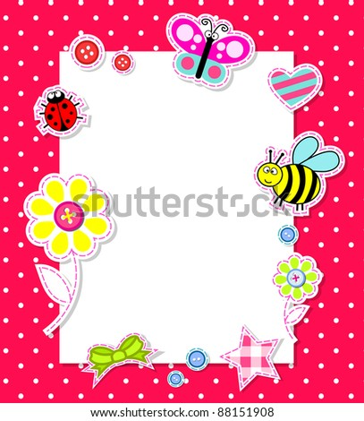 ... Galleries: Printable Baby Girl Borders , Baby Girl Border Clip Art