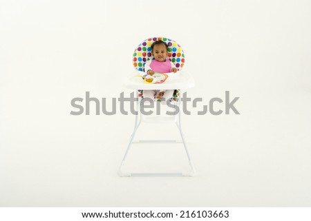 Baby High Chair Stock Images RoyaltyFree Images Vectors