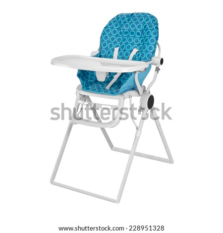 Baby High Chair - stock photo