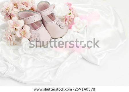 baby shower decoration - stock photo