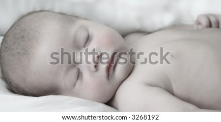baby sleeping peaceful