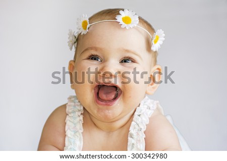 Baby smile -  Image stock - stock photo