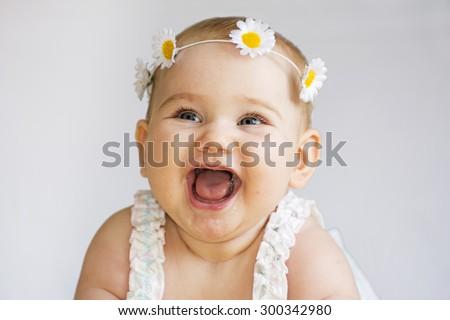 Baby smile -  Image stock - stock photo