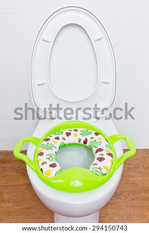 Baby Toilet Bowl Stock Photo Royalty Free 294150743