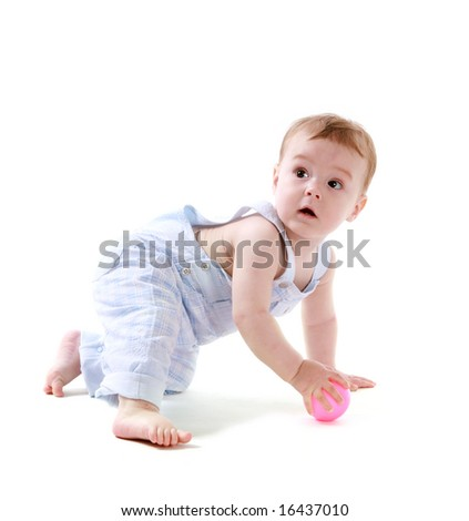 Baby with ball 2