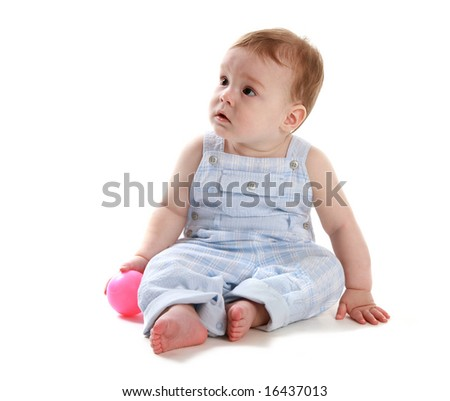 Baby with ball 3