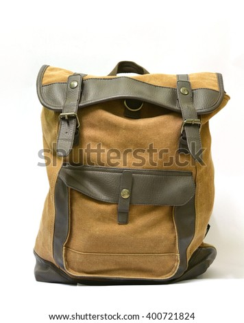 back bag - stock photo