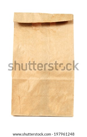 Back of Envelope - stock photo
