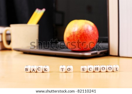 Back To School Concept Image - stock photo