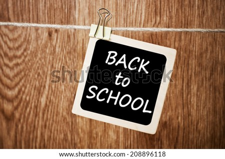 Back to school. Education concept - stock photo