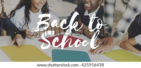 Back to School Education Intelligence Concept - stock photo