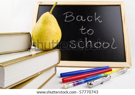 Back to school time - stock photo