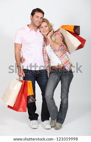 Back to shopping - stock photo