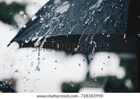 back umbrella rain vintage tone stock photo edit now 728383990