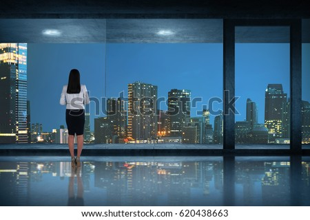 Window Night Stock Images Royalty Free Images Amp Vectors