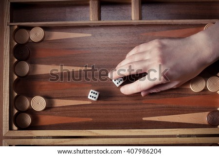 Backgammon players have dropped two sixes