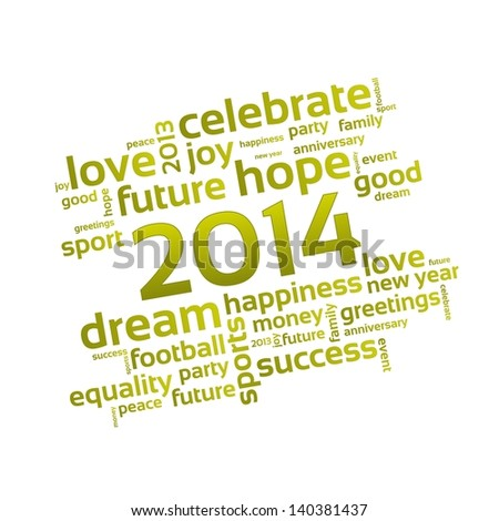 Background 2014 - A Wish for the New Year