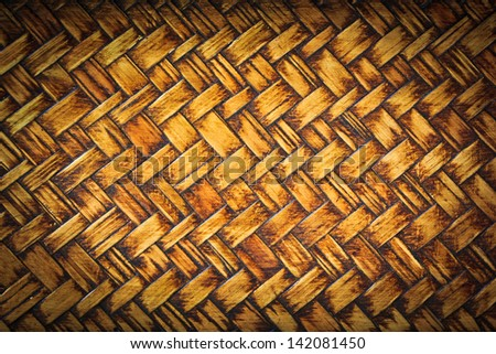 Background abstract art bamboo wall, wallpaper - stock photo