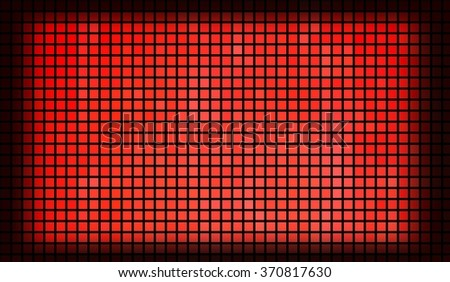 background abstract mosaic of the grid pattern and squares red color.illustration