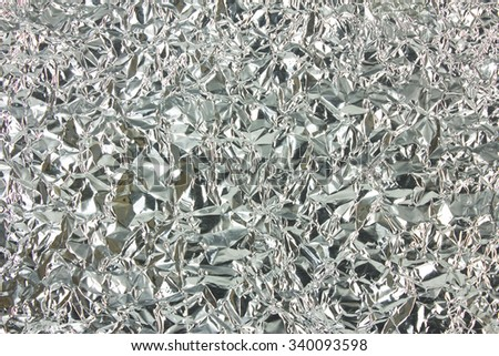 background aluminium foil