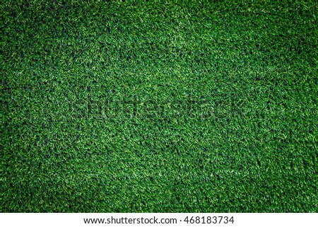 Background and texture of artificial green grass