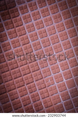 Background and texture of brown clay tile